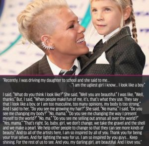 julieschooler.com - blog - 3 non-singing theories about Pink - Pink VMA Speech