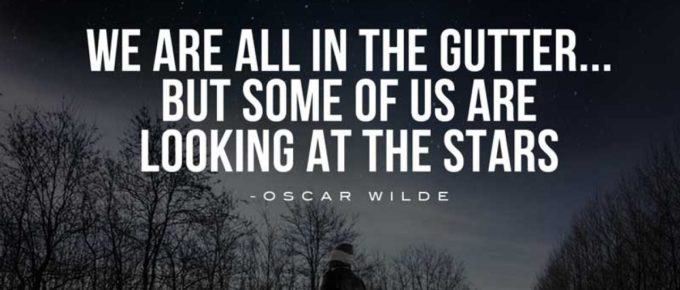 julieschooler.com - blog - 3 Goal-Setting Setbacks that Should NOT Stop You Achieving Your 2021 Goals - Oscar Wilde Stars Quote
